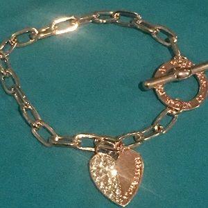 Mk bracelet-rose gold